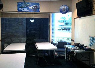 seaxp dive shop classroom